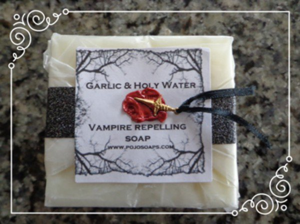 Garlic & Holy Water Vampir Repelling Soaps